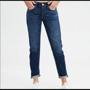 American Eagle Button Fly Tomgirl Boyfriend Jeans